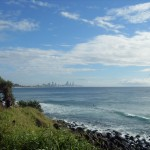 Вид на Gold Coast