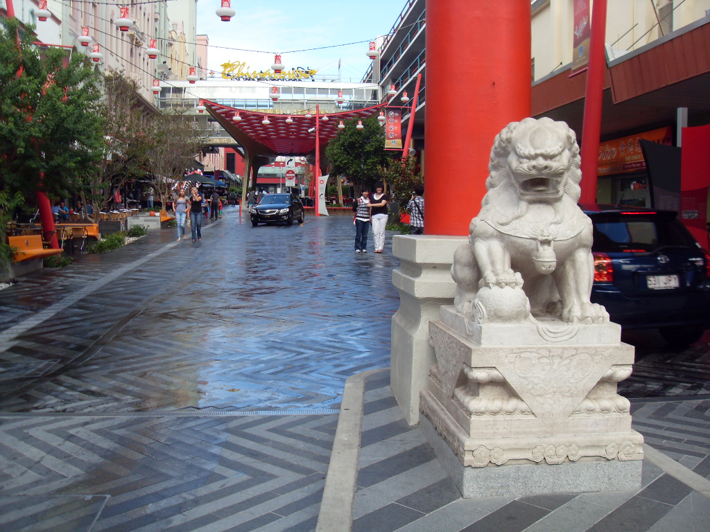 Китай город Брисбан
