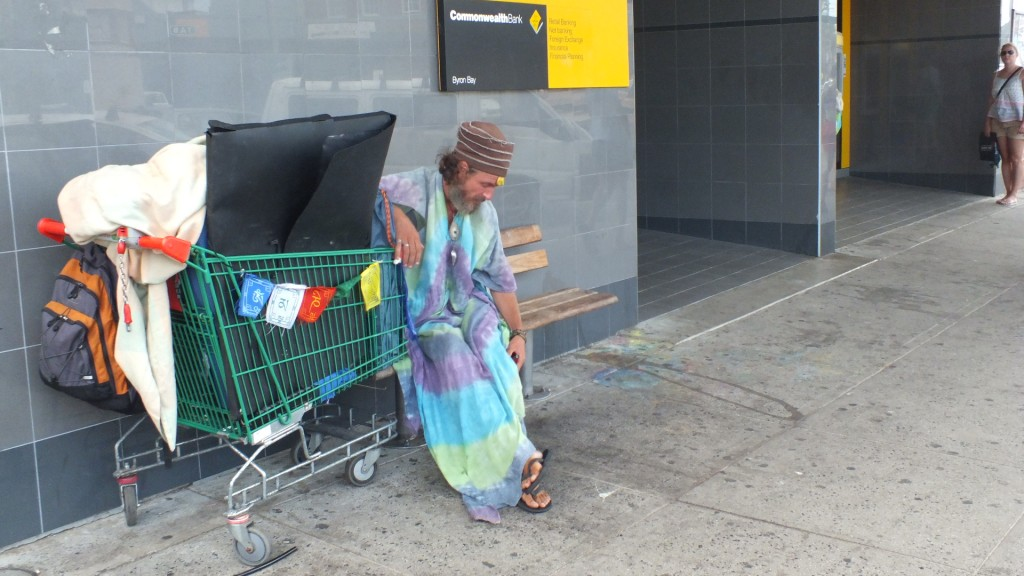 Необычный народ на улицах