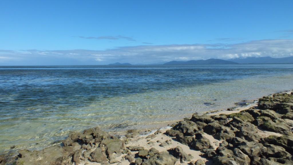 Вид с острова на соседние острова. Green Island