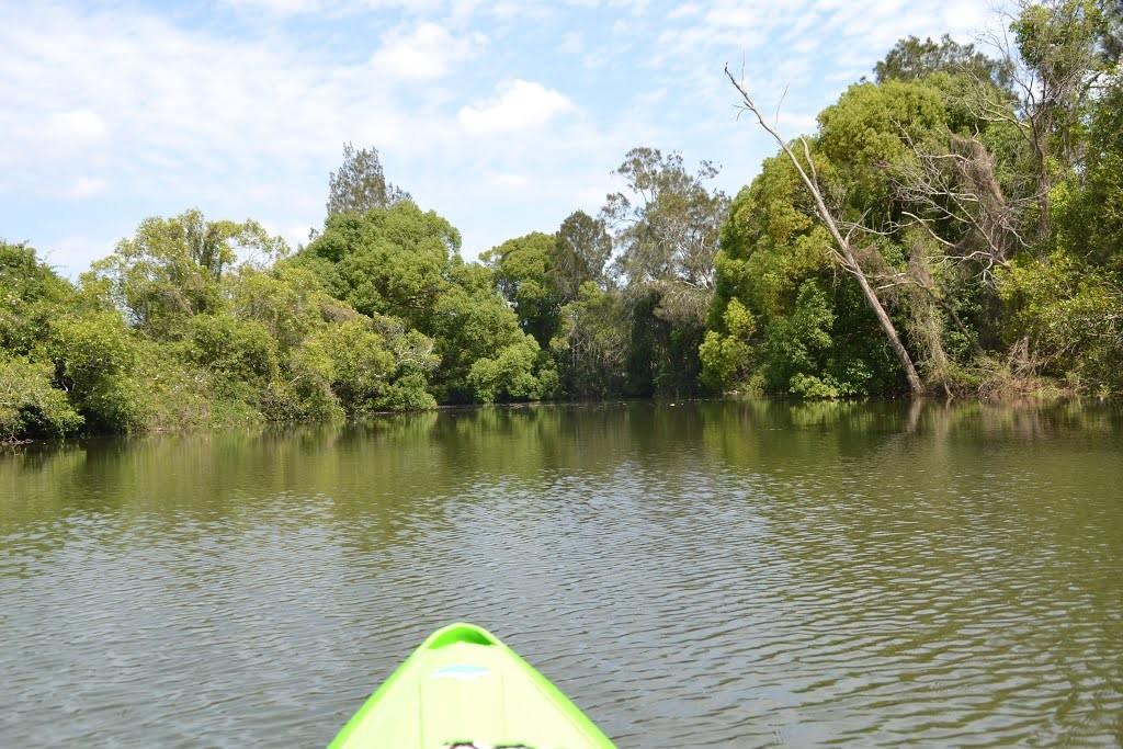 На каяке по реке