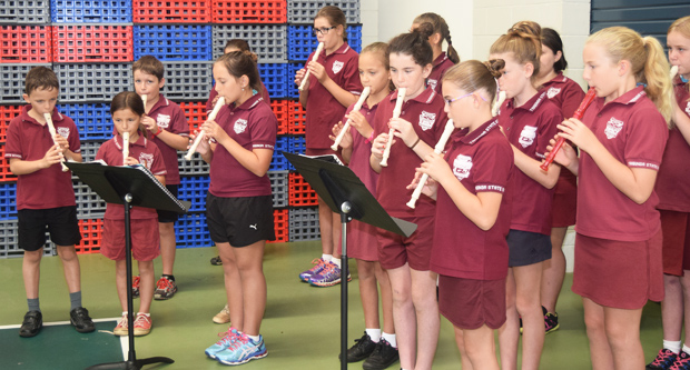 recorder band