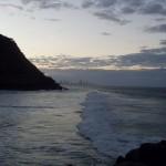 Вечером на пляже Голд Кост