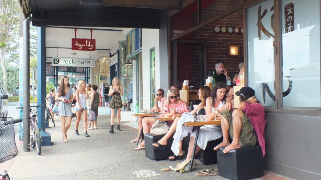 Центральная улица Byron Bay