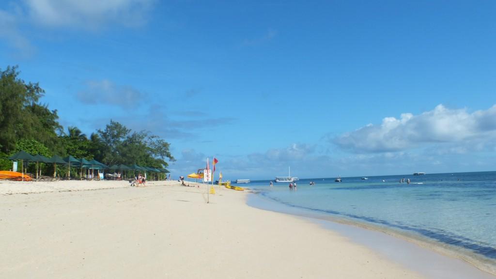 Пляж на острове. Green Island