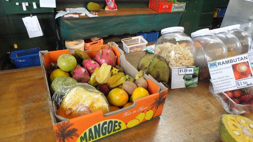 Мои покупки в магазине Tropical fruit world